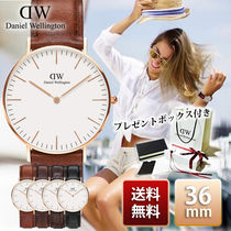 Daniel Wellington Classic 36mm Rose Gold 腕時計