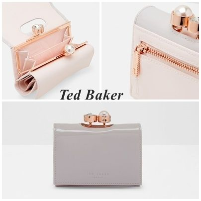 """2017 spring summer TED BAKER """"Alix"""" Pearl decorative bifold"""