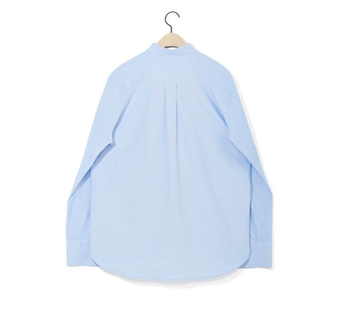 日本未入荷 NOHANTのWIDE CUFFS OXFORD SHIRT 全2色