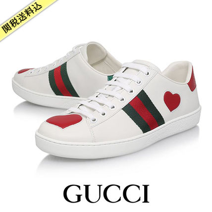 GUCCI Ershad leather sneakers / &