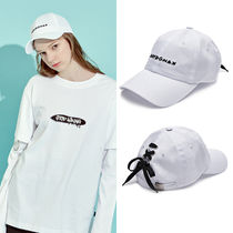 ◇DBYDGNAK◇ 2017ss  Back Lace-Up Logo Cap (White)