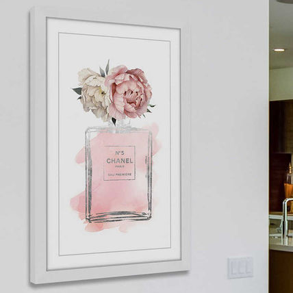 Marmont Hill Floral Peony frame with art 6 size