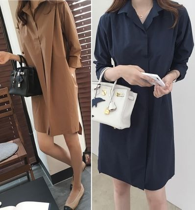 Modern shirts cotton dress all