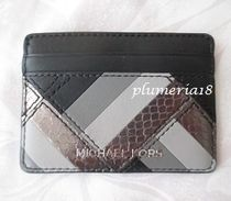 sale! Michael Kors★marquertry patchwrk card case leather