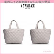 MZ WALLACE(エムジーウォレス) マザーズバッグ 関送込☆国内発送☆MZ WALLACE☆ロゴ入りナイロントートバッグ