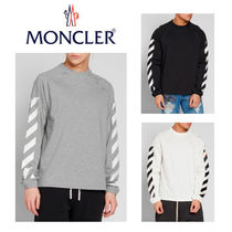 MONCLER Moncler X Off-White ラグランクルースウェット