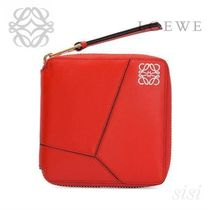 LOEWE★ロエベ Puzzle Small Wallet Red