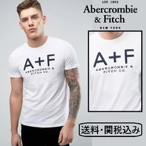 Abercrombie & Fitch A+Fアップリケ Tシャツ ホワイト
