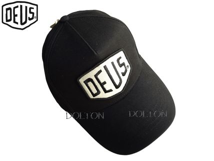 手もと在庫有・DEUS・CAP・Faded Shield Trucker・Black