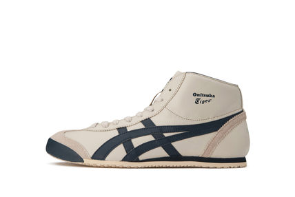 OnitsukaTiger MEXICO MidRunner shoes Birch x Indian ink
