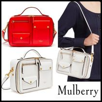 追跡送料込♪ロンドン本店 Mulberry Cherwell Square Shiny Lamb