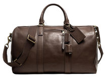 レア1点限り☆COACH☆ BLEECKER DUFFLE IN LEATHER