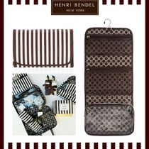 HENRI BENDEL*BROWN & WHITE OVERNIGHTER
