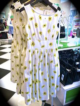 【kate spade】激カワ♡復刻!daisy dot lyric dress☆