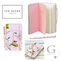 TED BAKER(テッドベイカー ) ノート 【送/関込】TED BAKER A6ペン付ミニノート オリエンタルブルーム
