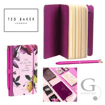 TED BAKER(テッドベイカー ) ノート 【送/関込】TED BAKER A6ペン付ミニノート  シトラスブルーム