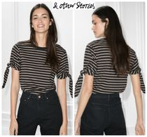 & Other Stories(アンドアザーストーリーズ) Tシャツ・カットソー 日本未入荷 & Other Stories ストライプトップ