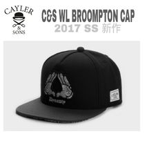 CAYLER&SONS(ケイラーアンドサンズ) キャップ 先取り【送込・Cayler&Sons】C&S WL BROOMPTON CAP★黒&白模様手
