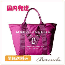 MARC JACOBS(マークジェイコブス) トートバッグ 国内発送★MARC JACOBS コットントート ピンク
