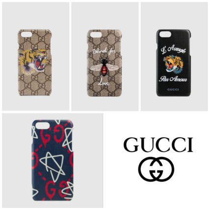 GUCCI☆直営店買い付け/ギフトOK☆iPhone 7ケース