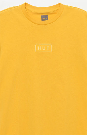 17SS新作*日本未入荷☆HUF *Overdyed Bar Logo T-Shirt☆