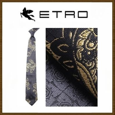 ETRO too many gained value / tie / silk 100%