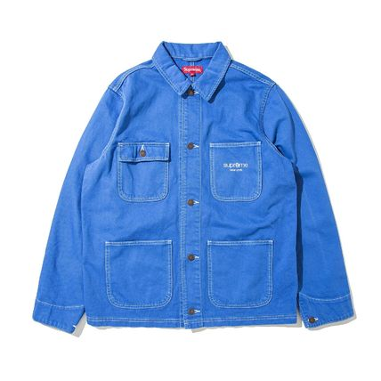在庫有り★送料込み★Supreme Denim Chore Coat Jacket