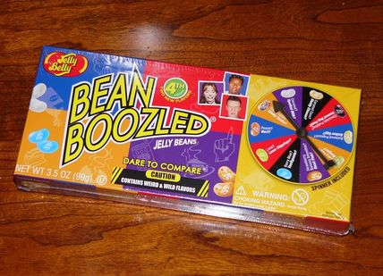 Bean Boozled Jelly Belly Beans roulette Spinner Game