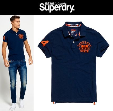 ★新作★送料込★Superdry★Super State Polo Shirt★