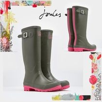 Joules Clothing(ジュールズ クロージング) レインブーツ 国内発送【joules】オシャレ配色カーキ×ピンク Wellies