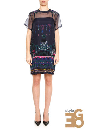 lace dress TRIBAL 17 02942 041