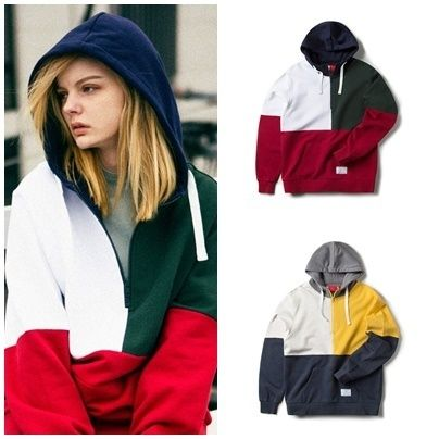 COLOR BLOCK HOODIE hoodies all the CRITIC