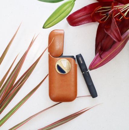 iqos leather vintage case