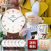 関税送料込☆Daniel Wellington Dapper 38mm Rose Gold Silver