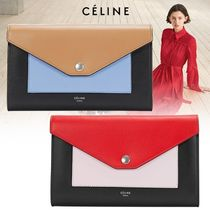 VIPセール関税込【Celine】Pocket Trifolded チェーンWallet