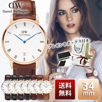関税送料込☆Daniel Wellington Dapper 34mm Rose Gold Silver