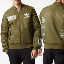 ADIDAS Men's Originals☆LOGO BOMBER JACKET AY8637