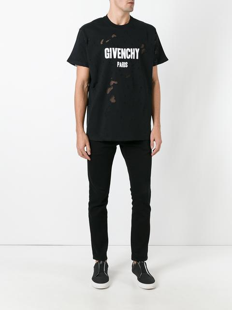 "17SS 新作 ""GIVENCHY"" ロゴプリントTシャツ"