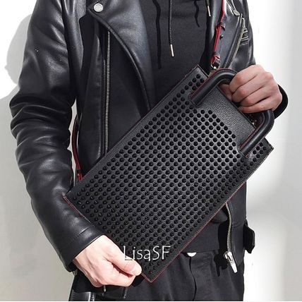 popular classic Christian Louboutin still black icon bag
