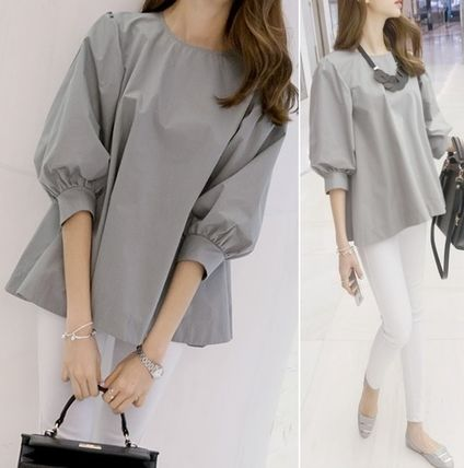 Lovely soft balloon sleeve blouse all