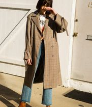 ANDERSSON BELL(アンダースンベル) コート 【ANDERSSON BELL】LAWRENCE STRING CHECK TRENCH COAT awa087w