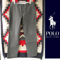 Polo Ralph Lauren:Straight-Fitチノパンツ/BLACK