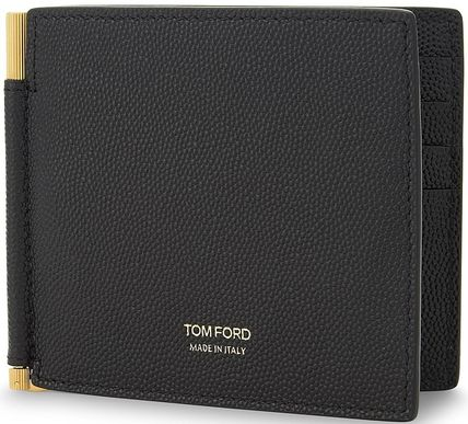 And TOM FORD leather money clip wallet