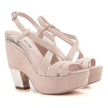 Suede Leather Wedge Sandal ウエッジサンダル
