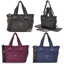 MARC JACOBS(マークジェイコブス) マザーズバッグ 期間限定セール!国内入荷☆MARC JACOBS Nylon Knot Baby Bag