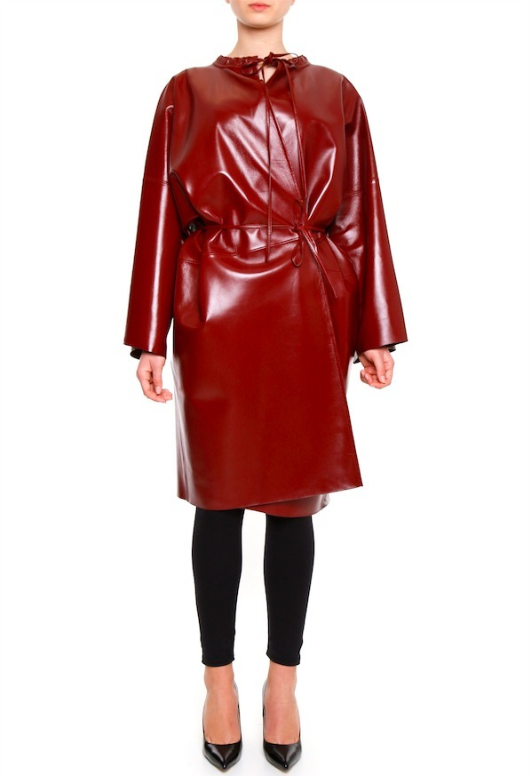 17SS BL023 OVERSIZED GOWN COAT