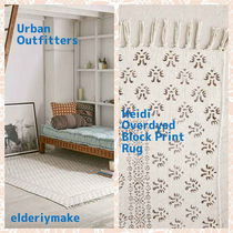 Urban Outfitters(アーバンアウトフィッターズ) ラグ・マット・カーペット Urban Outfitters*Heidi Overdyed Block Print Rug
