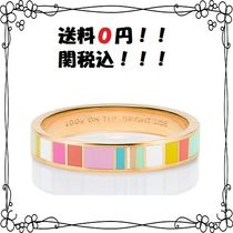 kate spade new york(ケイトスペード) ブレスレット 【関税送料込】look on the bright side hinged idiom bangle