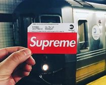 送料込み Supreme MTA Metro Card NY Subway メトロカード