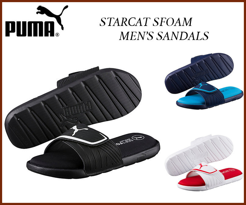 日本未入荷・新作17SS☆PUMA☆STARCAT SFOAM MEN'S SANDALS
